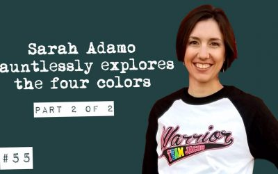 Sarah Adamo dauntlessly explores the four colors (part 2 of 2)